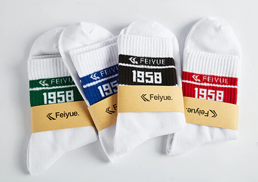 Feiyue Vintage Stripe Cotton Socks
