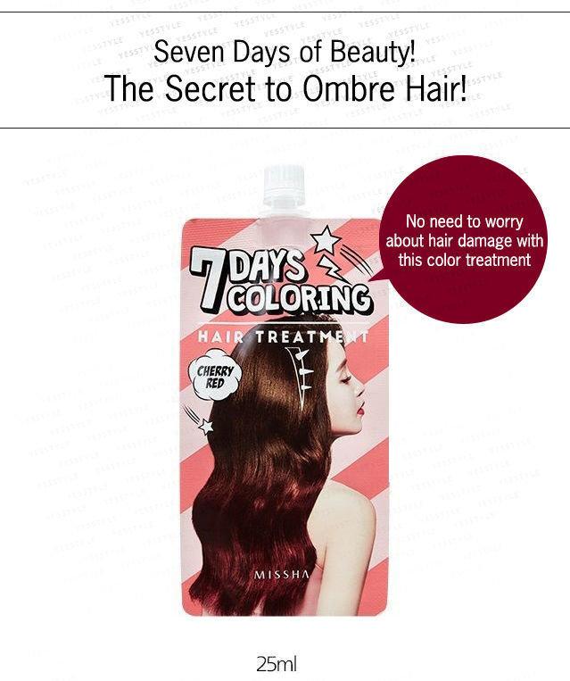 Missha - 7 Days Coloring Hair Treatment 25ml