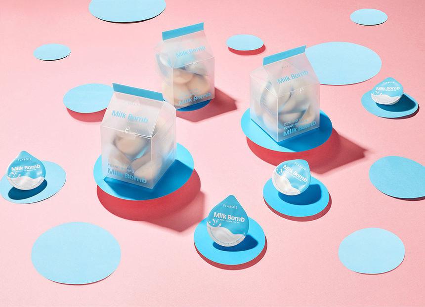FLABOIS - Milk Bomb Hair Pack Capsule