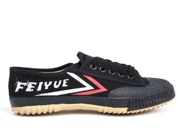 501 Feiyue Classic Lo Black Sneaker