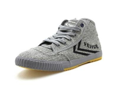 1920 Grey Texture Sneaker Feiyue Boot