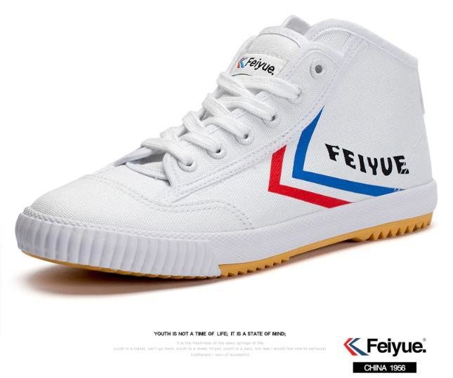 1920 Boot Sneaker Feiyue White (non-rubber tip) - NEW