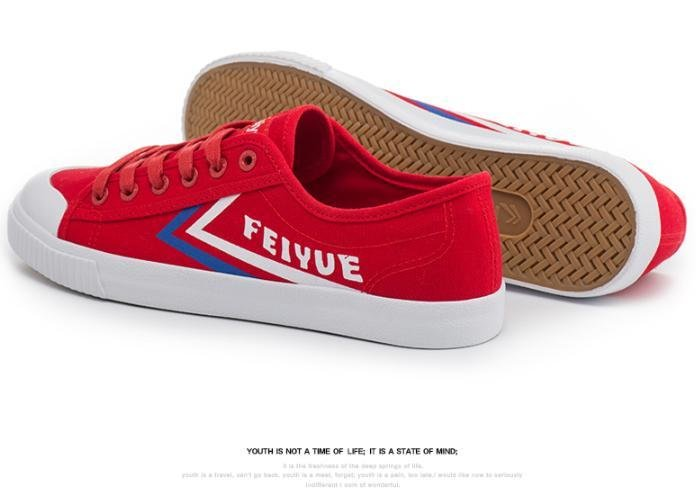 Cult Sneaker Feiyue Red