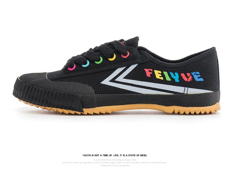 Feiyue Multi Colour - Yellow Sole 13535