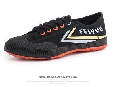 Multi Colour Feiyue Sneaker - Red Sole
