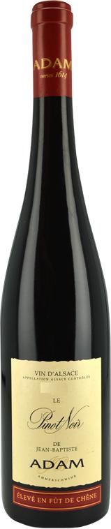 Jean Baptiste Adam - Pinot Noir Fut de chene 2015 - box of 6
