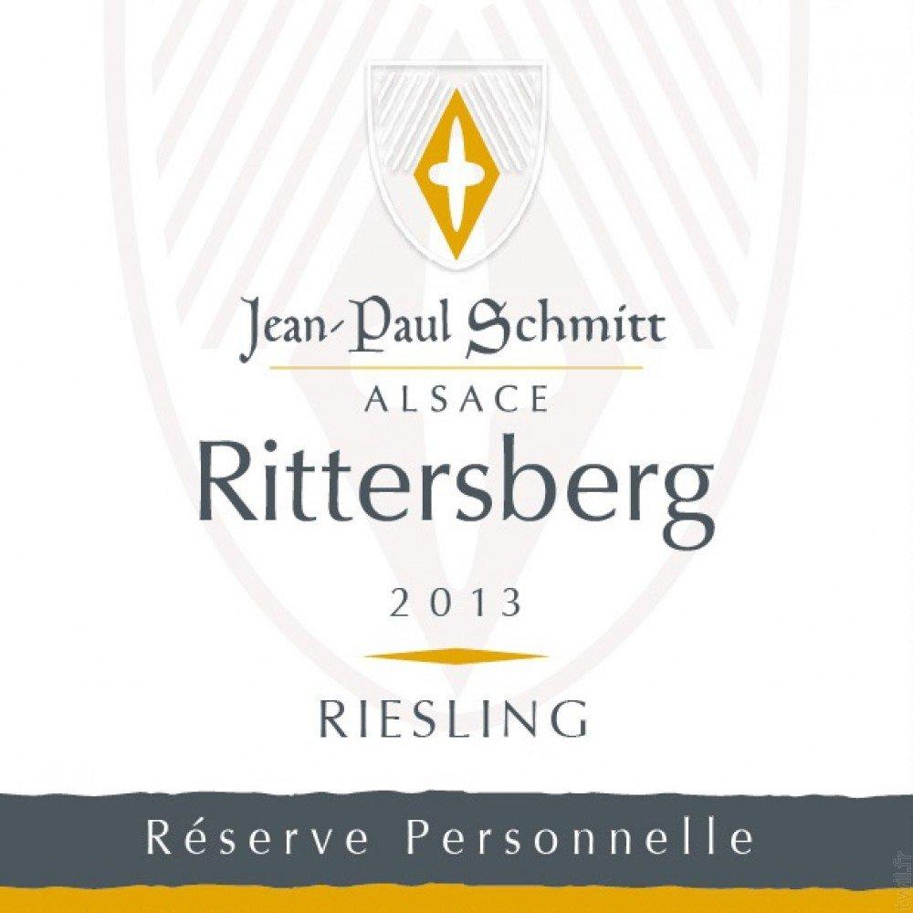 J.P. Schmitt - Riesling Rittersberg Reserve Personelle 2013 - box of 6