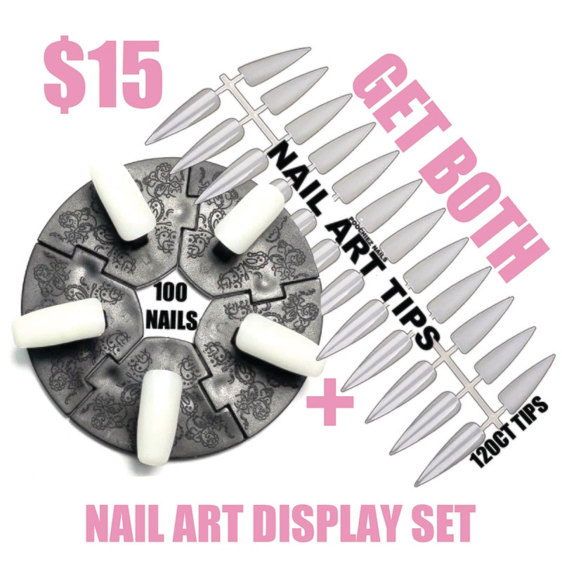 NAIL ART DISPLAY SET