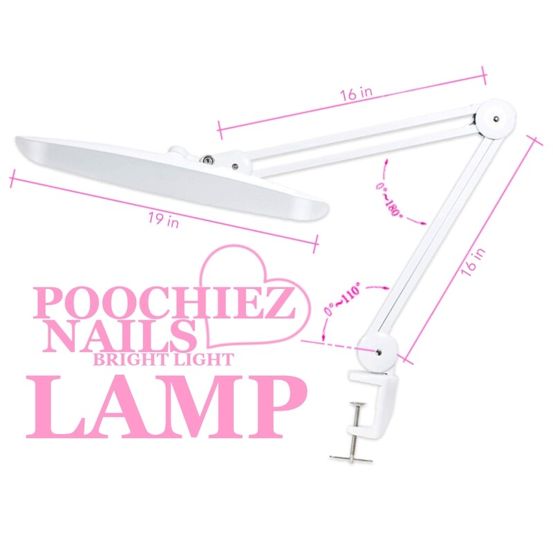 POOCHIEZ SUPER BRIGHT LIGHT LAMP.