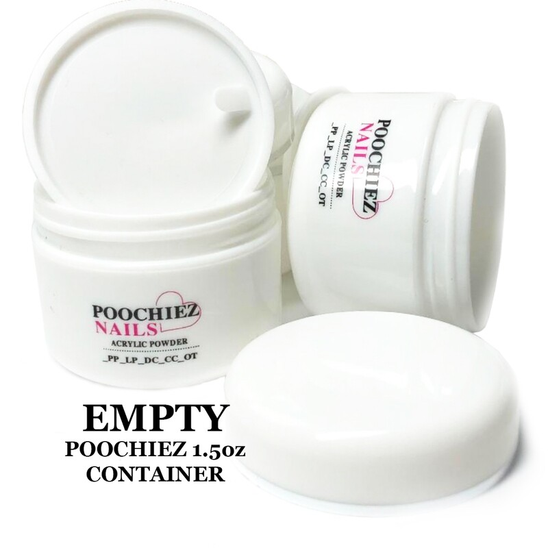 EMPTY 1.5OZ POOCHIEZ CONTAINER