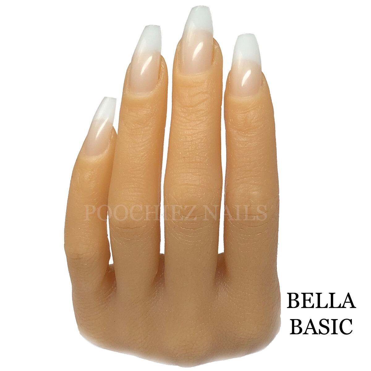 BB BELLA BASIC HALF HAND ( PLEASE READ THE DIRECTIONS & WATCH ALL VIDEOS. COMES WITH NAIL TIPS.