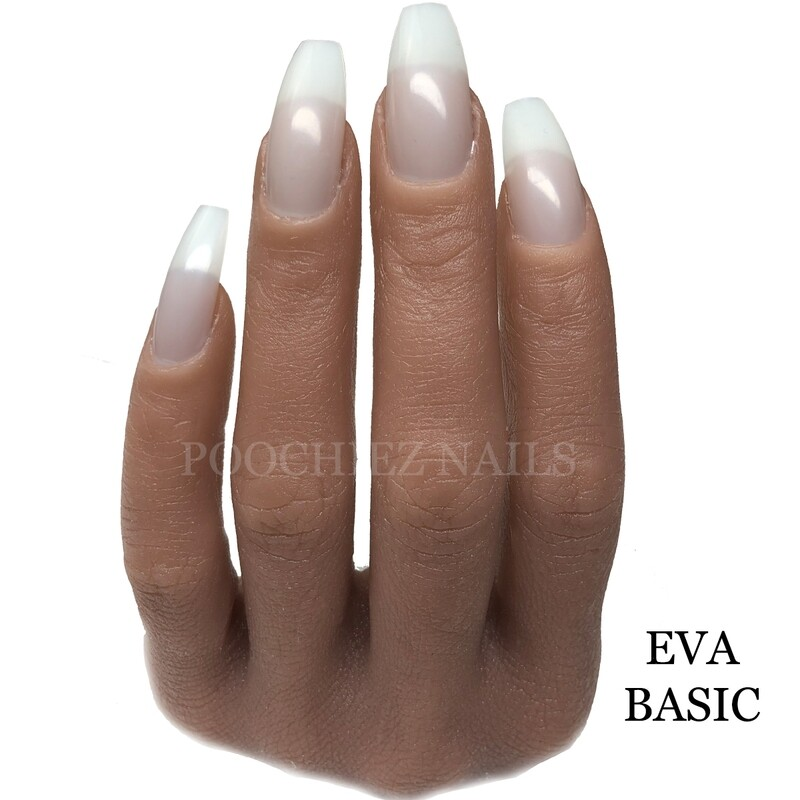 BE EVA BASIC HALF HAND ( PLEASE READ THE DIRECTIONS & WATCH ALL VIDEOS. COMES WITH NAIL TIPS.