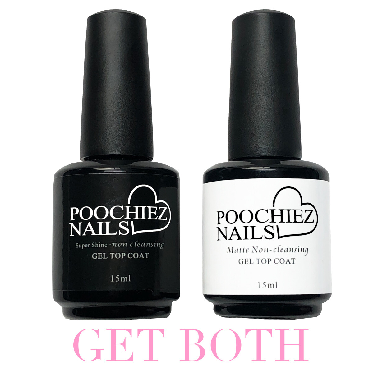 ITEM #35 SUPER SHINE & MATTE TOP GEL TOP COAT (KEEP MATTE AWAY FROM SUNLIGHT)