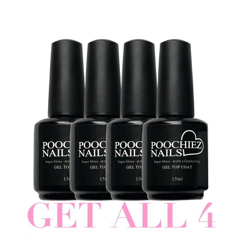 ITEM #32 TOP COATS (4count)