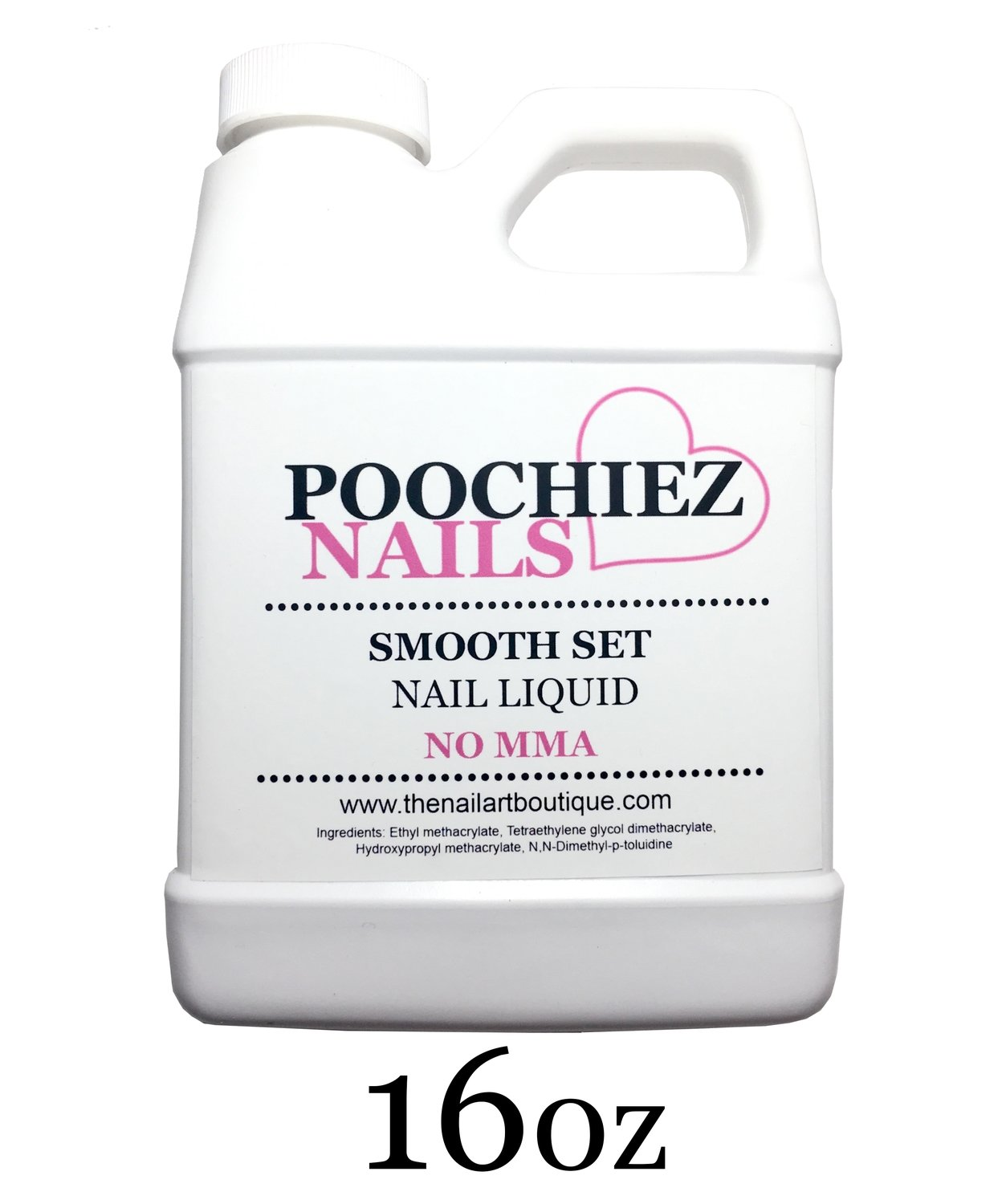 ITEM #11---16oz PURPLE POOCHIEZ NAILS LIQUID