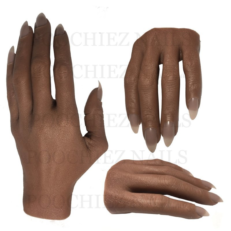EVA REALISTIC FULL PRACTICE HAND  ( PLEASE READ THE DIRECTIONS & WATCH THE VIDEOS BELOW) WILL TAKE 5-8 DAYS TO PROCESS.