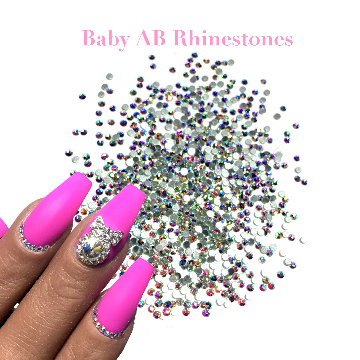 BABY AB HIGH QUALITY SIZE 1.5mm RHINESTONES 1440ct