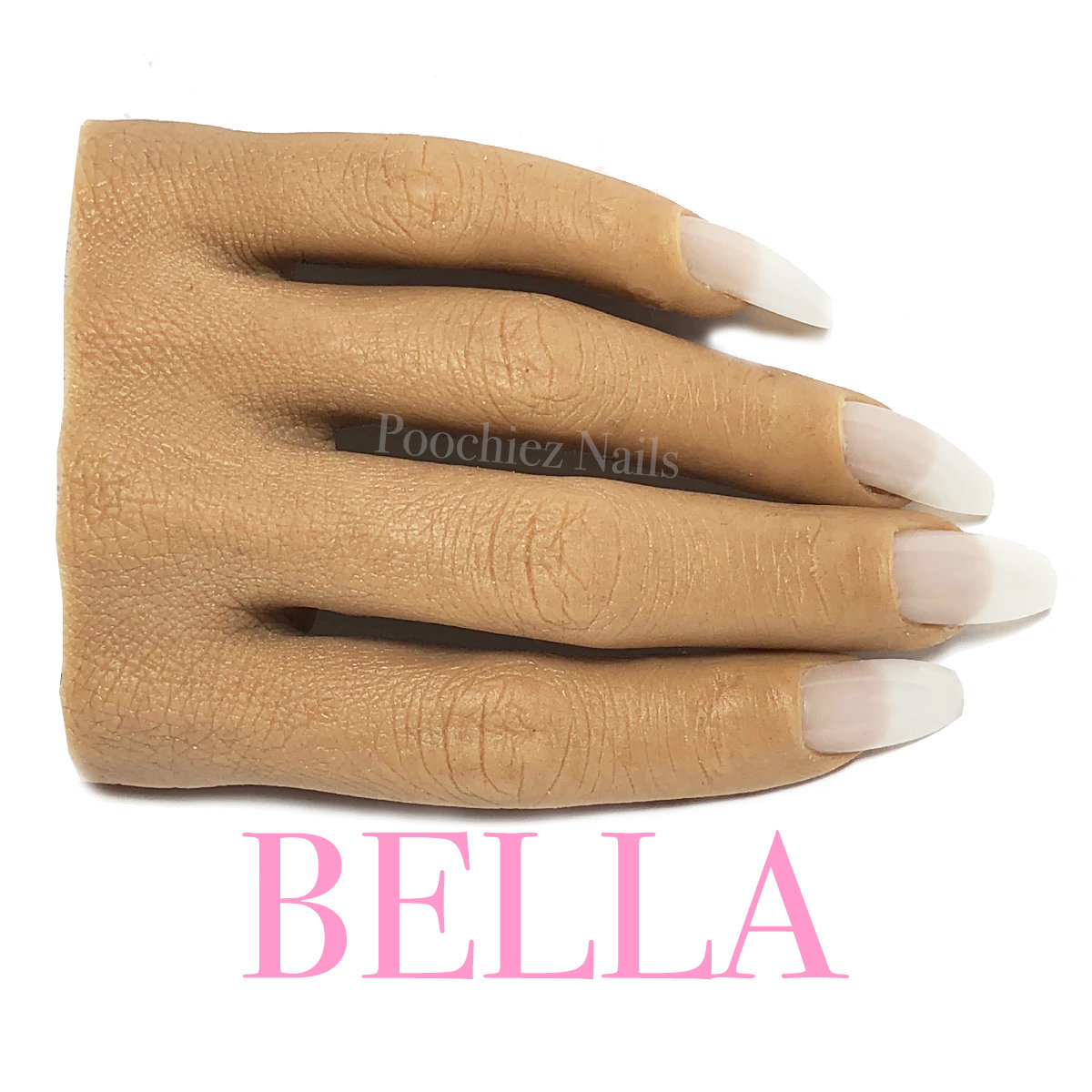 BELLA HALF REALISTIC PRACTICE HAND ( PLEASE READ THE DIRECTIONS & WATCH THE VIDEOS BELOW) WILL TAKE 5-8 DAYS TO PROCESS.