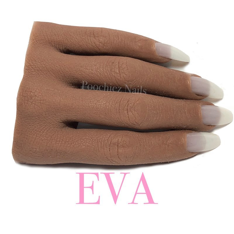 (H3) EVA HALF REALISTIC PRACTICE HAND ( PLEASE READ THE DIRECTIONS & WATCH THE VIDEOS BELOW) WILL TAKE 5-8 DAYS TO PROCESS.