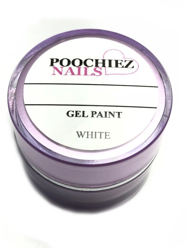 WHITE GEL PAINT 10 GRAMS