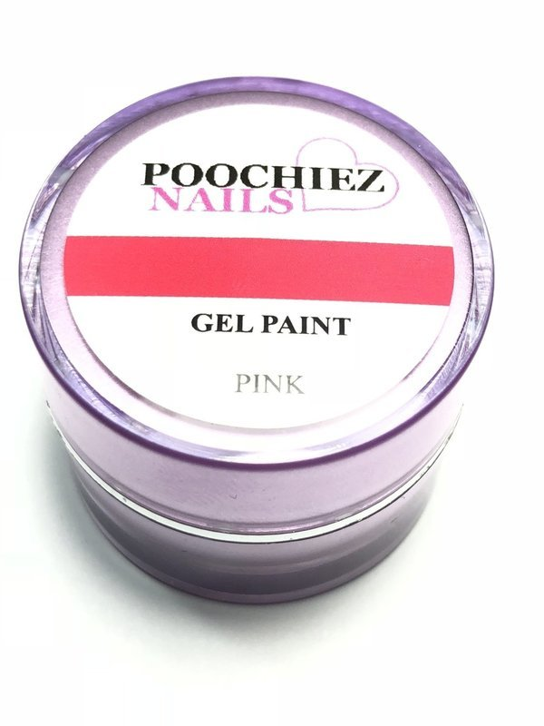 PINK GEL PAINT 10 GRAMS