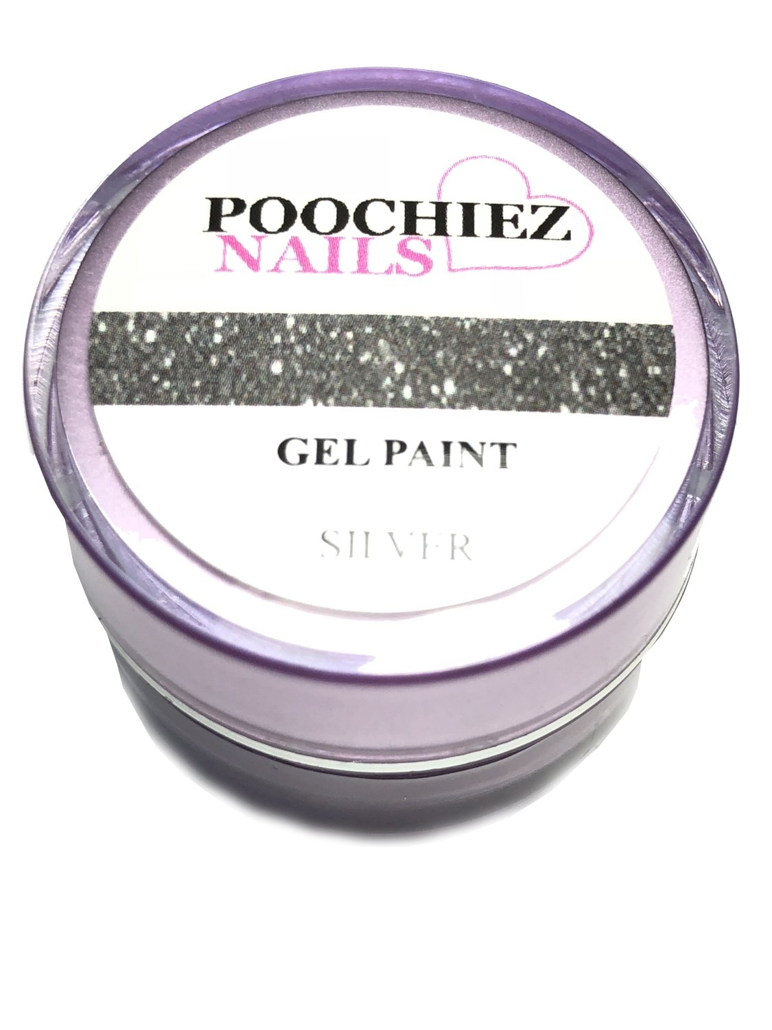 SILVER GEL PAINT 10 GRAMS