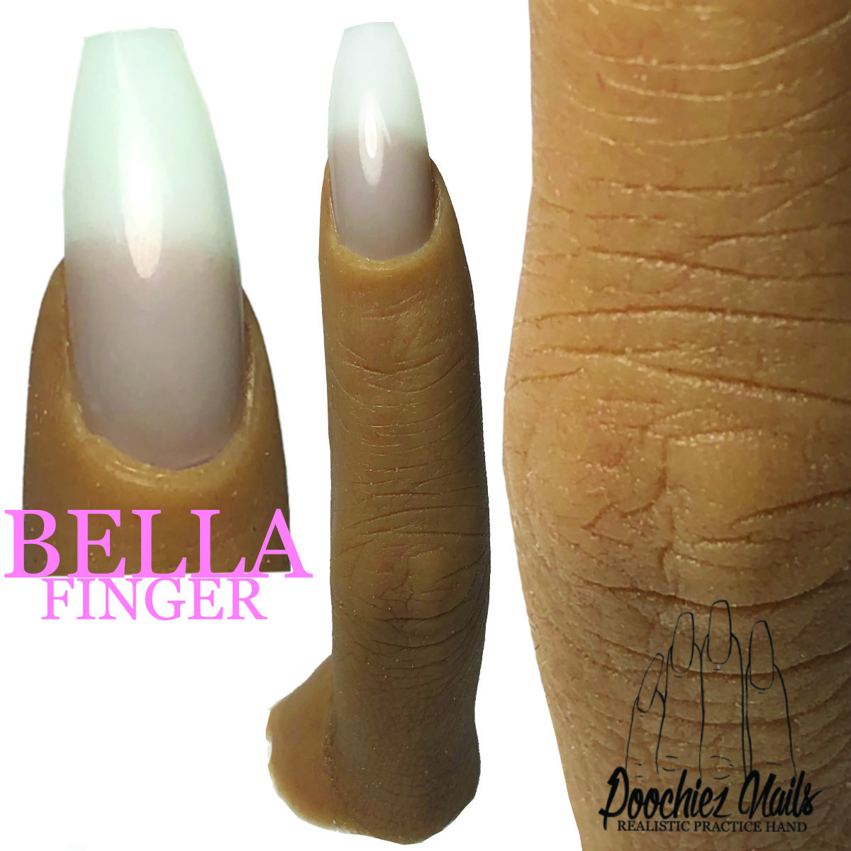 BELLA REALISTIC PRACTICE FINGER ( PLEASE READ THE DIRECTIONS & WATCH THE VIDEOS BELOW)