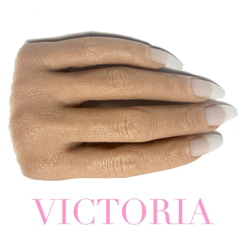 VICTORIA HALF REALISTIC PRACTICE HAND ( PLEASE READ THE DIRECTIONS & WATCH THE VIDEOS BELOW) WILL TAKE 5-8 DAYS TO PROCESS.