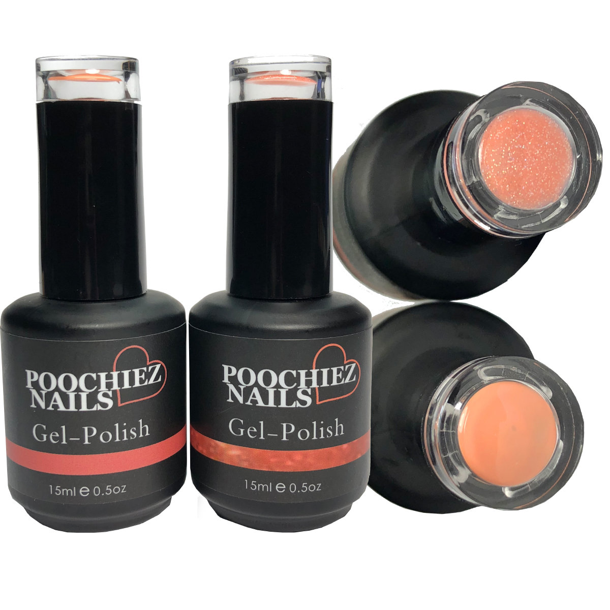 PEACHEY GEL POLISH SET 2 PACK