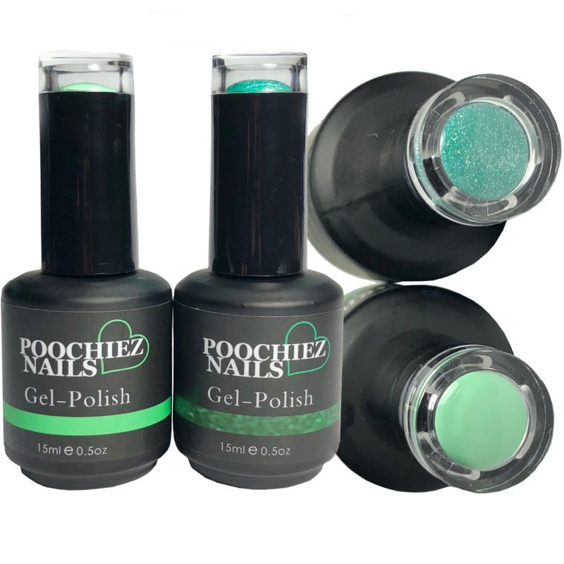 MINT GEL POLISH SET 2 PACK