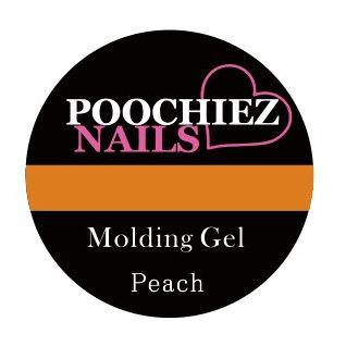POOCHIEZ NAILS MOLDING GEL PEACH 10G EACH