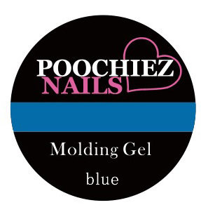 POOCHIEZ NAILS MOLDING GEL BLUE 10G EACH