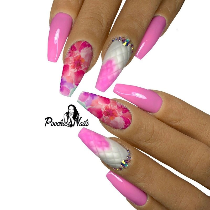 WATER COLOR FLOWERS DECALS