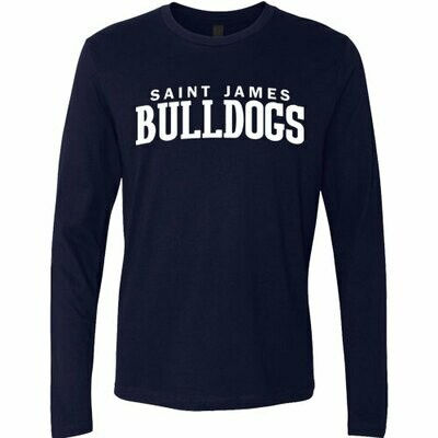 Unisex Navy Long Sleeve