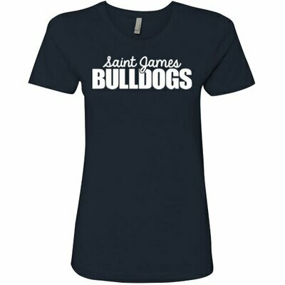 Ladies Navy Tee