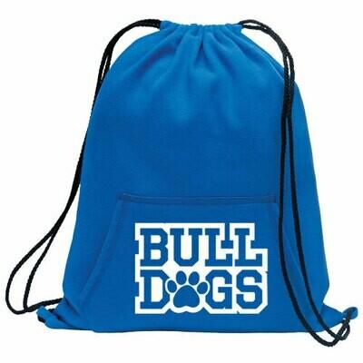 * Bulldogs Fleece Cinch Bag (SS)