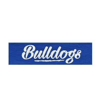 * Bulldogs Glitter Headband (SS)