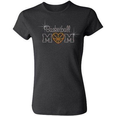 Basketball Mom w/ Heart