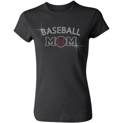 Baseball Mom (Arched Letters)