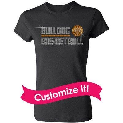 Bold Mascot Basketball