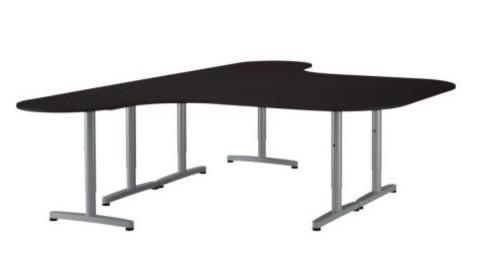 Black IKEA Galant Desks (w/T-legs)