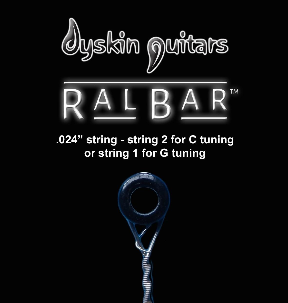 "RalBar™ Spare Individual Strings .024"""