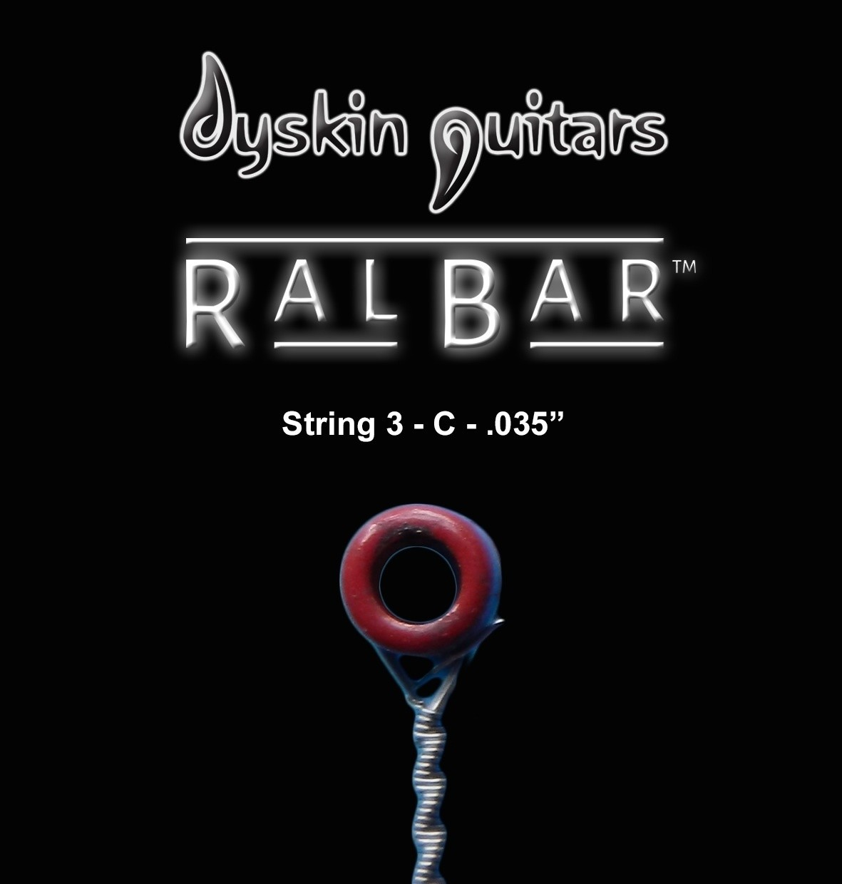 RalBar™ Spare Individual Strings .035""