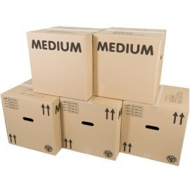 Medium Packing Boxes x 15 Pack