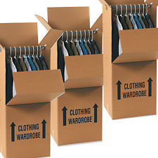 Wardrobe Boxes x 3 Pack