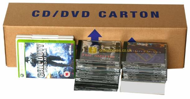CD DVD Boxes x 10 Pack