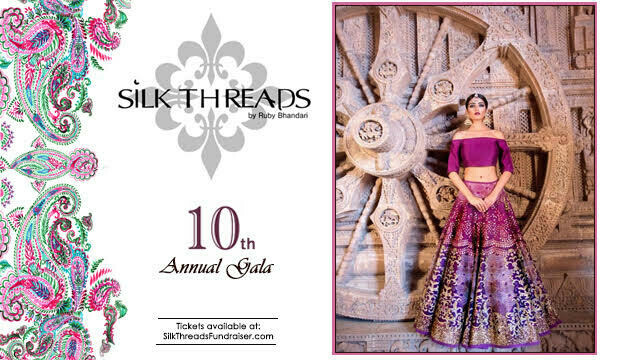 Silk Threads 10th Annual Gala General Ticket - sold out