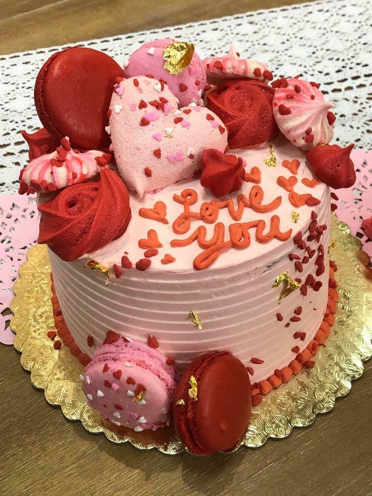 "6"" Valentine's Day Cake"