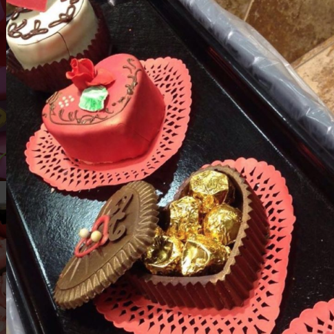 Edible Chocolate Filled Boxes