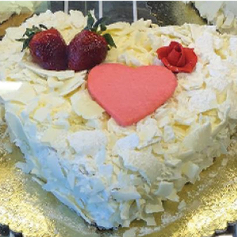 8 Inch Heart Shaped Cake